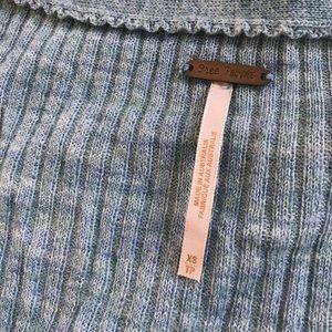 Free People Tops - Free People Wool Blend Ribbed Henley Top